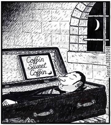 Coffin, gravestone, reincarnation, vampire, life, philosophy